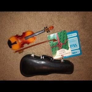 American Girl violin set